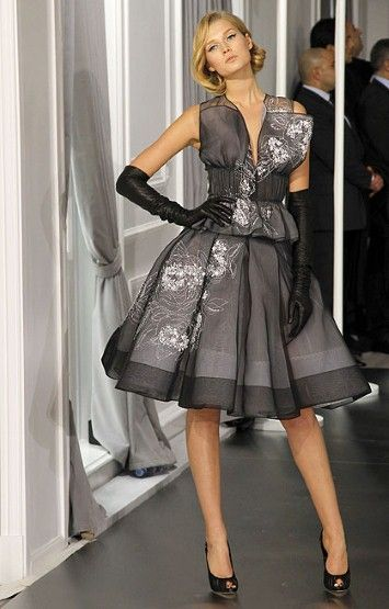 """Christian Dior 2012  """"Mad Men"""" style"""
