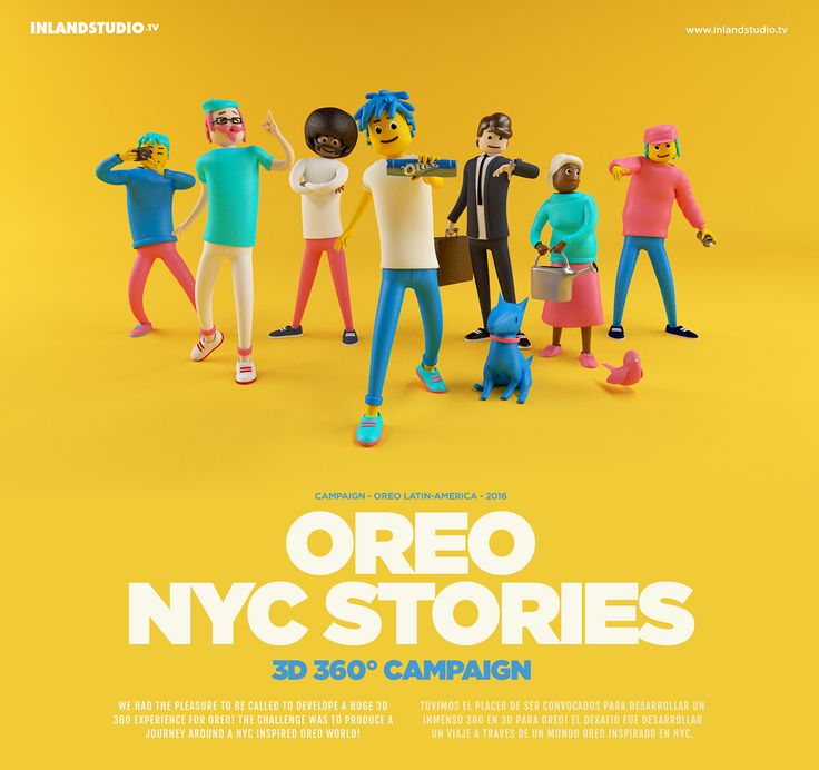 OREO NYC Stories - 360° Campaign on Behance