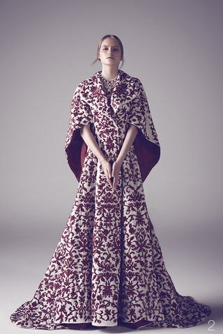 "Ashi Studio's Fall Winter 2014 Haute Couture collection, titled ""The Exiled Queen,"""
