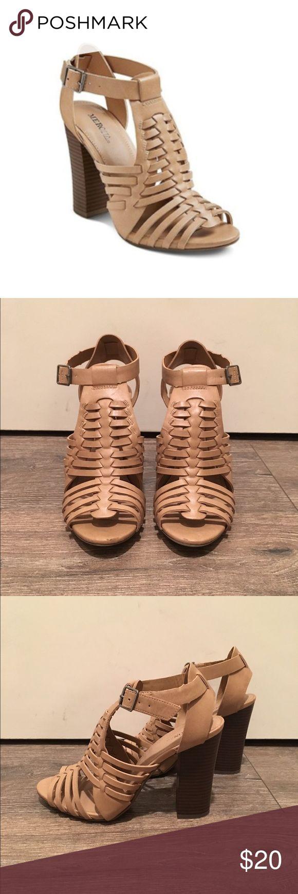 """Merona Missi Caged Heel Sandal Pumps Merona Missi Caged Heel Sandal Pumps. 4"""" heel Merona Shoes Heels"""