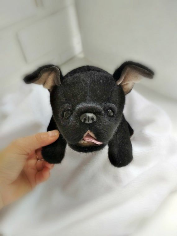 French Bulldog Puppies Dog Teddy Handmade Puppy Dog Toys
