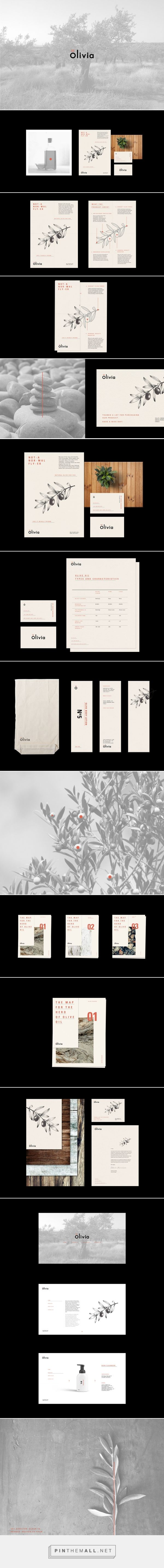 Olivia Natural Skincare Company Branding by Eldur Ta | Fivestar Branding Agency – Design and Branding Agency & Curated Inspiration Gallery  #skincare #skincarebranding #branding #design #designinspiration