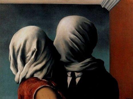 Magritte- les amants