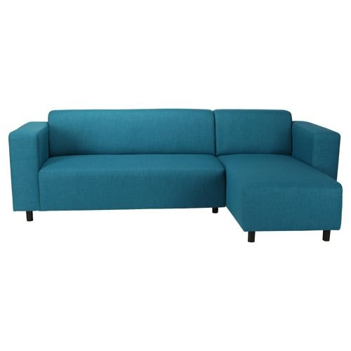 Turquoise lounge corner sofa tesco townhouse pinterest - Turquoise sofa ...