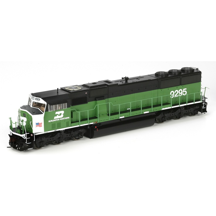 HO SD60M w/DCC & Sound, BN #9295 (ATHG67388): Athearn Trains