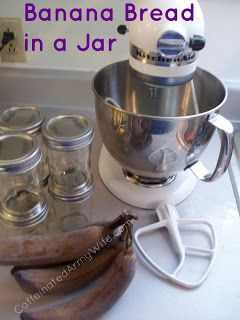 Banana bread, In a jar and Ships on Pinterest