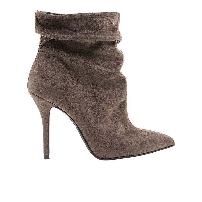 100450-TAUPE SUEDE #mourtzi #booties #suede