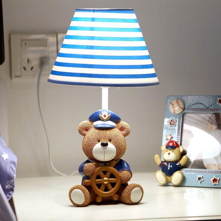 39.70$  Buy now - https://alitems.com/g/1e8d114494b01f4c715516525dc3e8/?i=5&ulp=https%3A%2F%2Fwww.aliexpress.com%2Fitem%2F110V-220V-Lovers-love-bear-table-lamp-for-child-bedroom-bedside-table-lamp-abajur-free-shipping%2F32584207185.html - Children's table lamp 110V 220V Lovers bear table lamp for child bedroom Nightlight cute animal model,bedside table lamp abajur 39.70$