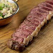 Churrasco de picanha maturada especial por Academia da carne Friboi