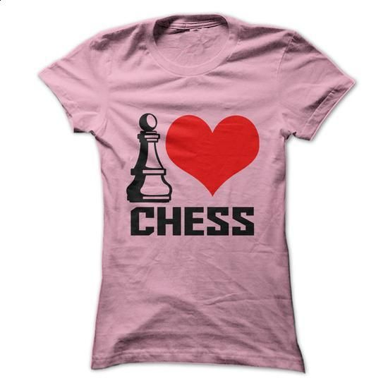 I Love Chess - #tee times #mens sweatshirts. GET YOURS =>…