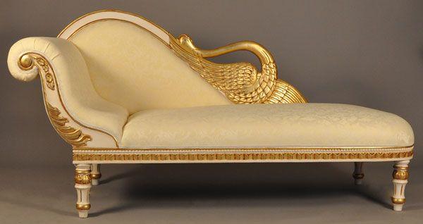 Louis-Seize Recamiere Ottomane Chaiselongue Antik Sofa | eBay