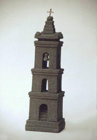 Artesania Chilena Iglesia en piedra