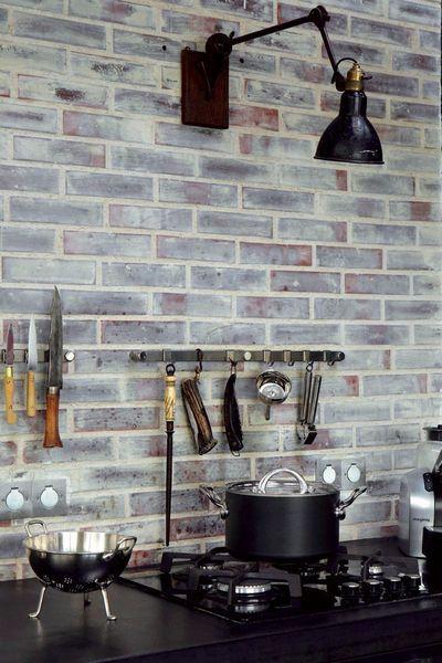 Mur en brique : brique de parement, authentique, peinte... - CôtéMaison.fr
