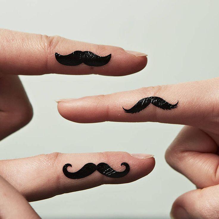 Best 25+ Mustache Tattoo Ideas On Pinterest