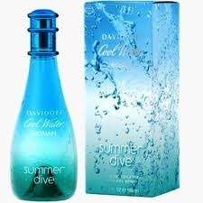 Cool Water (summer dive) - Davidoff : Le grand plongeon.