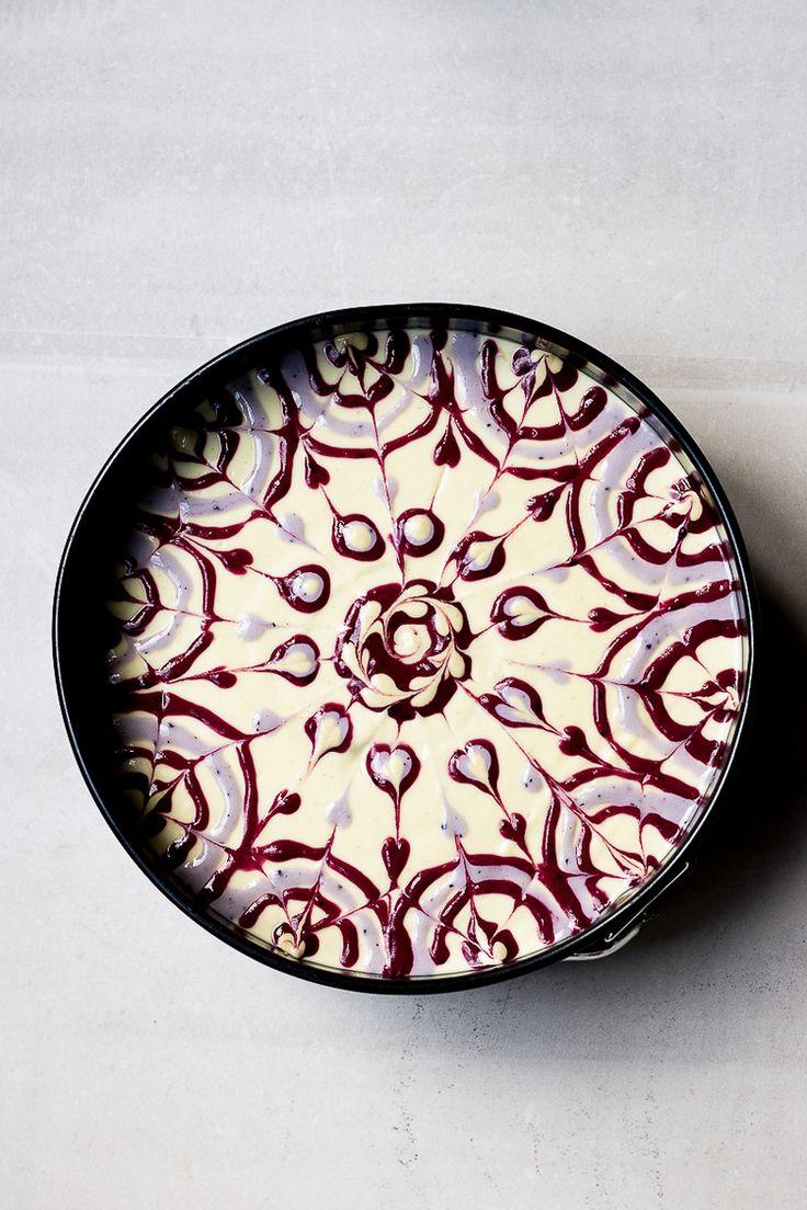 Raw Passion Fruit Swirl Cake Recipe (Gluten-Free)