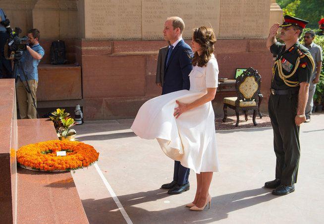 Hertuginnen tatt av vinden - William og Kate - VG