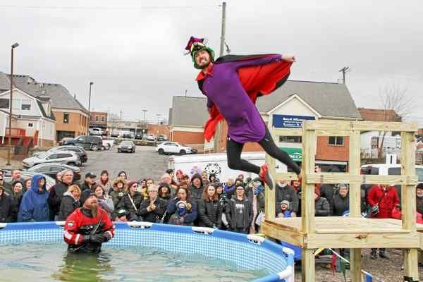 The Oakland County Polar Plunge was held on Saturday, Feb. 25, 2017, at Rochester Mills Brewing Co. Photo by Kris Kogut / For Digital First Media