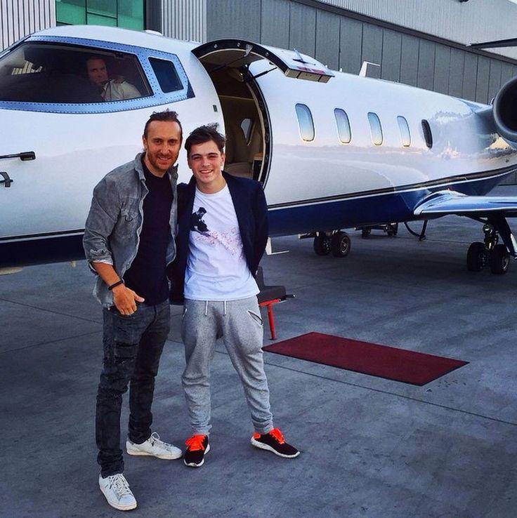 Martin Garrix & David Guetta.