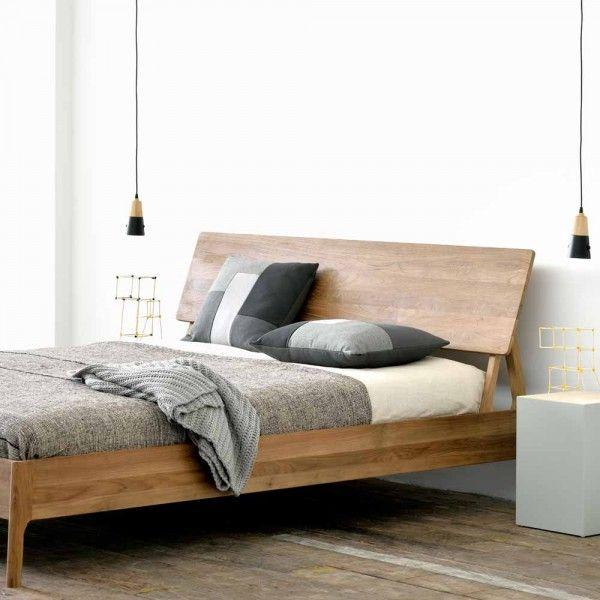 Holzbett Planet Aus Wildeiche Massivholz In 2020 Schlafzimmer Einrichten Schlafzimmer Design Holzbett