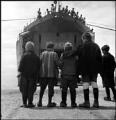 GREECE. 1948. Children evacuated from Civil War areas onto the ship 'Samos'. David Seymour