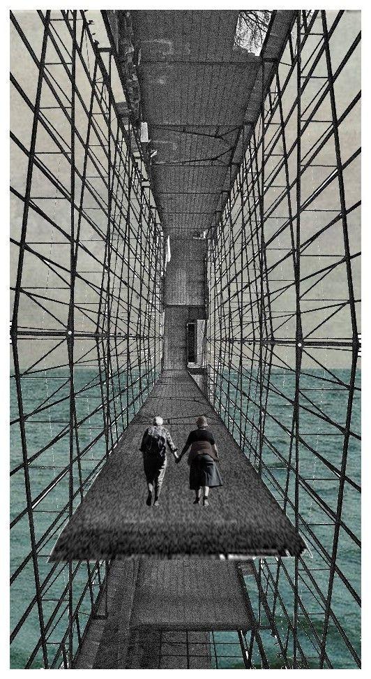 © fabio alessandro fusco, L'ultima Utopia/The last Utopia, [New Babylon in abbandono/New Babylon abandoned], 01 09 2015 Based on a photo by Domenico Pastore