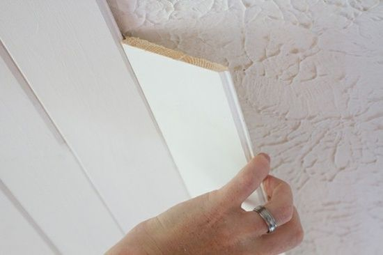 . Popcorn Ceiling To Plank Ceiling | The Lettered Cottage. For a
