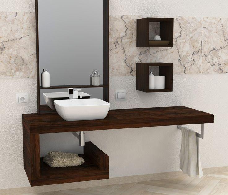 Pi di 25 fantastiche idee su mensole da bagno su - Mensole per bagno ...