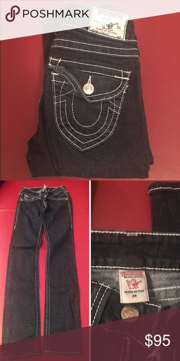 True Religion Jeans (women) True Religion jeans. They've been worn but they're still great for someone new to wear! True Religion Jeans