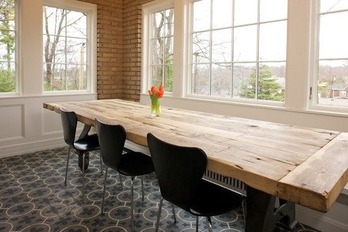 Rustic Dining Table Design