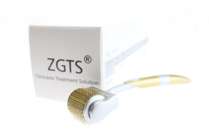 ZGTS Derma Roller Titanium Micro Needle Wrinkle Anti Ageing Acne Scar 1.0MM #ZGTS