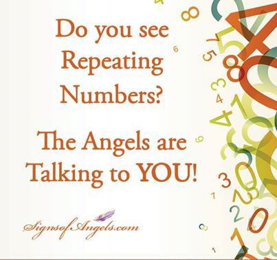 Number Sequences Your angels often communicate messages to you by showing you sequences of numbers. They do this in two ways. First, they subtly whisper in your ear so you'll look up in time to not...
