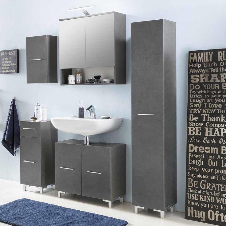 Die besten 25+ Badezimmer unterschrank grau Ideen auf Pinterest ... | {Möbel bad 10}