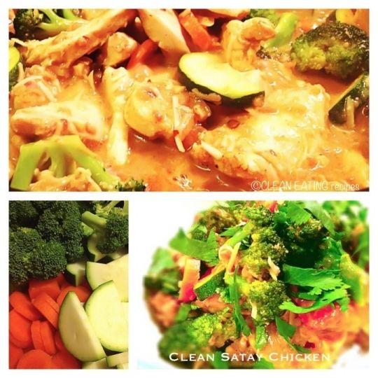 Clean Satay Chicken