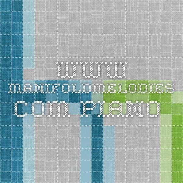 www.manifoldmelodies.com   piano