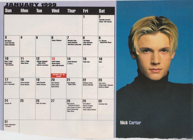 Celebrity Birthday Calendar - Paylesspriceperhead.com