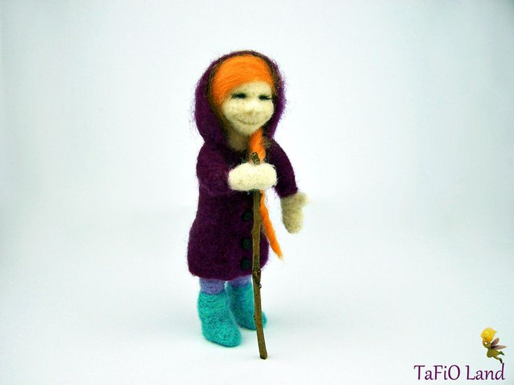 Filzfigur Roxana von TaFiO Land auf DaWanda.com