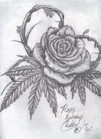 Cannabis Rose by Kz-animal