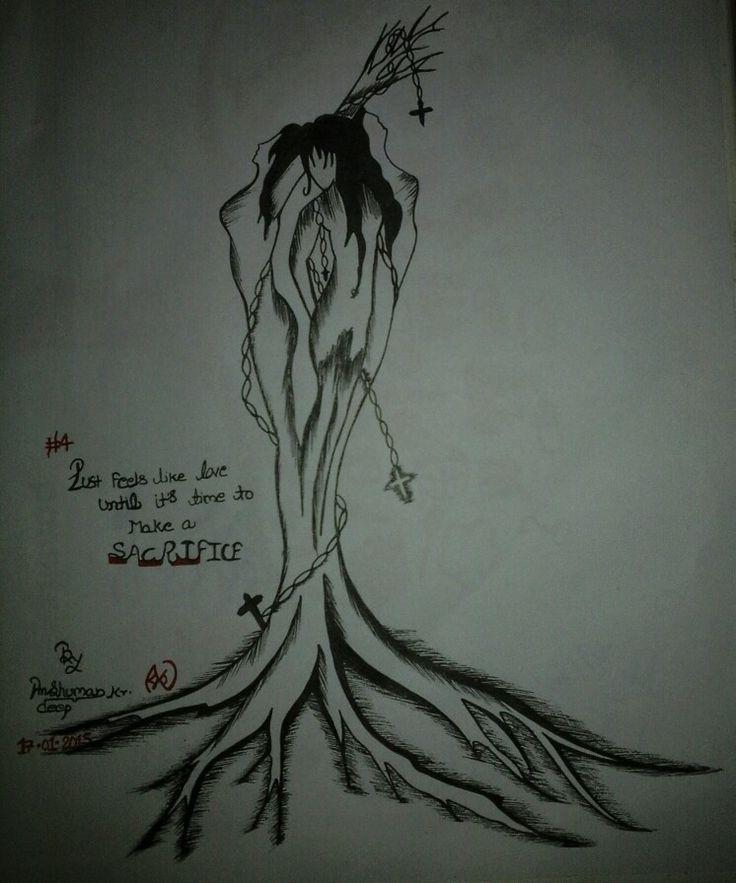 #4 sacrifice...!! By Anshuman kr. deep