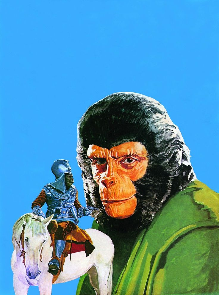 Planet of the Apes - art by Arnaldo Putzu (1975)