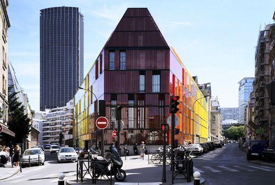 Novancia Business School a Parigi, by AS.Architecture Studio: un Tocco di Modernità in un Contesto Storico. «  Architettura Blog Arredamento e Design Blog