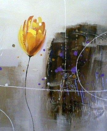 schilderij Tulp 50x60