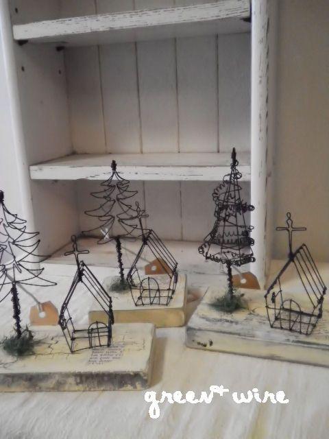 クリスマスの画像:green + wire