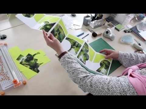 Dominique Spirlet vous a concocté une vidéo de 15 min pour vous montrer la réalisation de son album photo accordéon. Produits utilisés: Couleurs craies : htt...