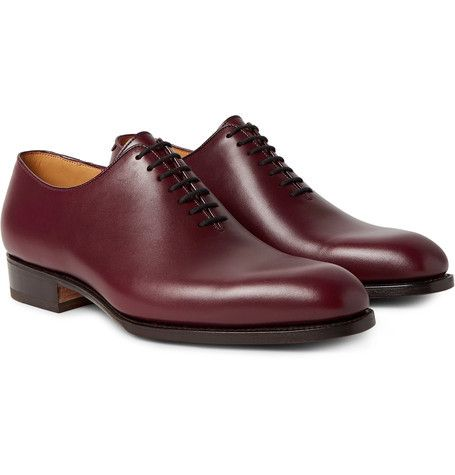 JM Weston Claridge oxfords is a wholecut with clean lines, which underlines the silhouette with evidence, like a punctuation. please note that sale is for shoes and dustbags.