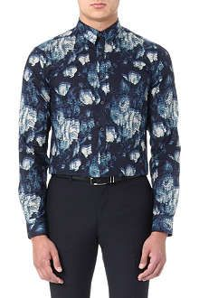 PS BY PAUL SMITH Floral-print slim-fit shirt