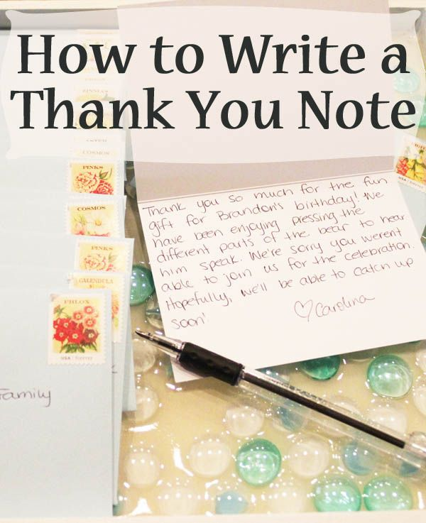 65 best Thank you note advice images on Pinterest Blogging - graduation thank you notes