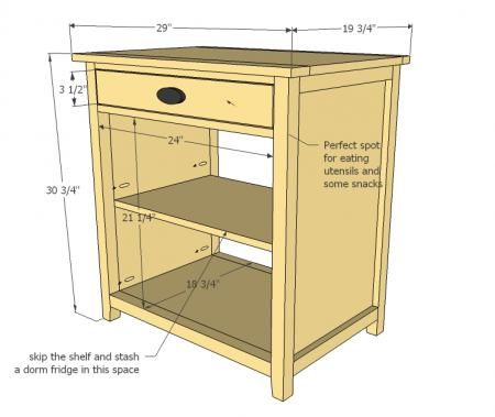 They Show This With The Shelf Removed For Inserting A Mini Fridge. Which Is  A