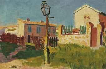 Albert Marquet (1875-1947)   The lamp, Arcueil
