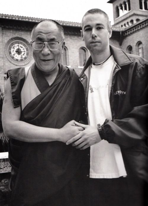 The Dalai Lama & MCA via @Jay Faires